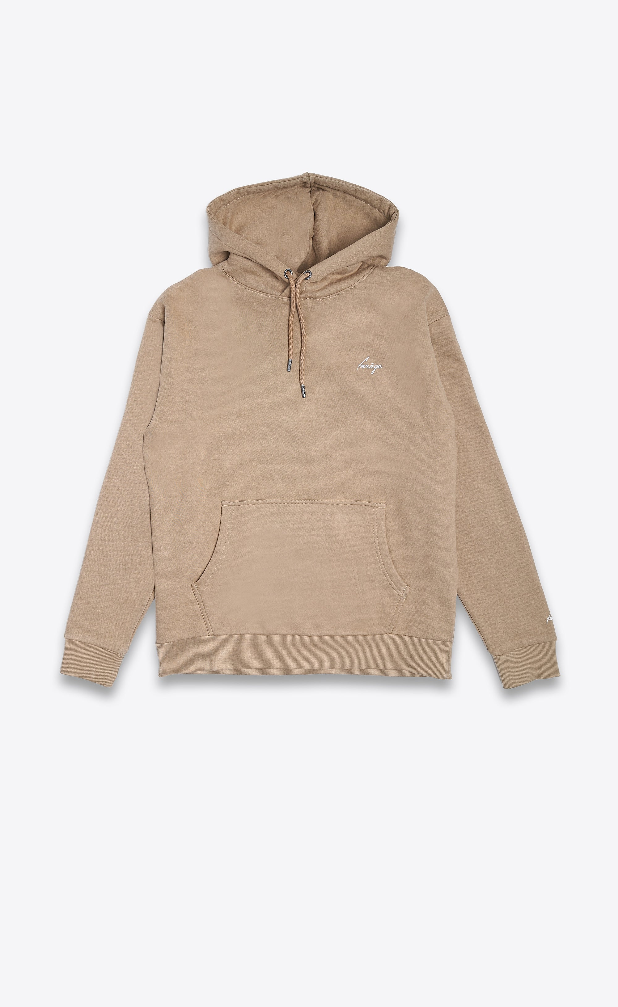FORAGE LOGO HOODIE - CAMEL - Forage-Clothing