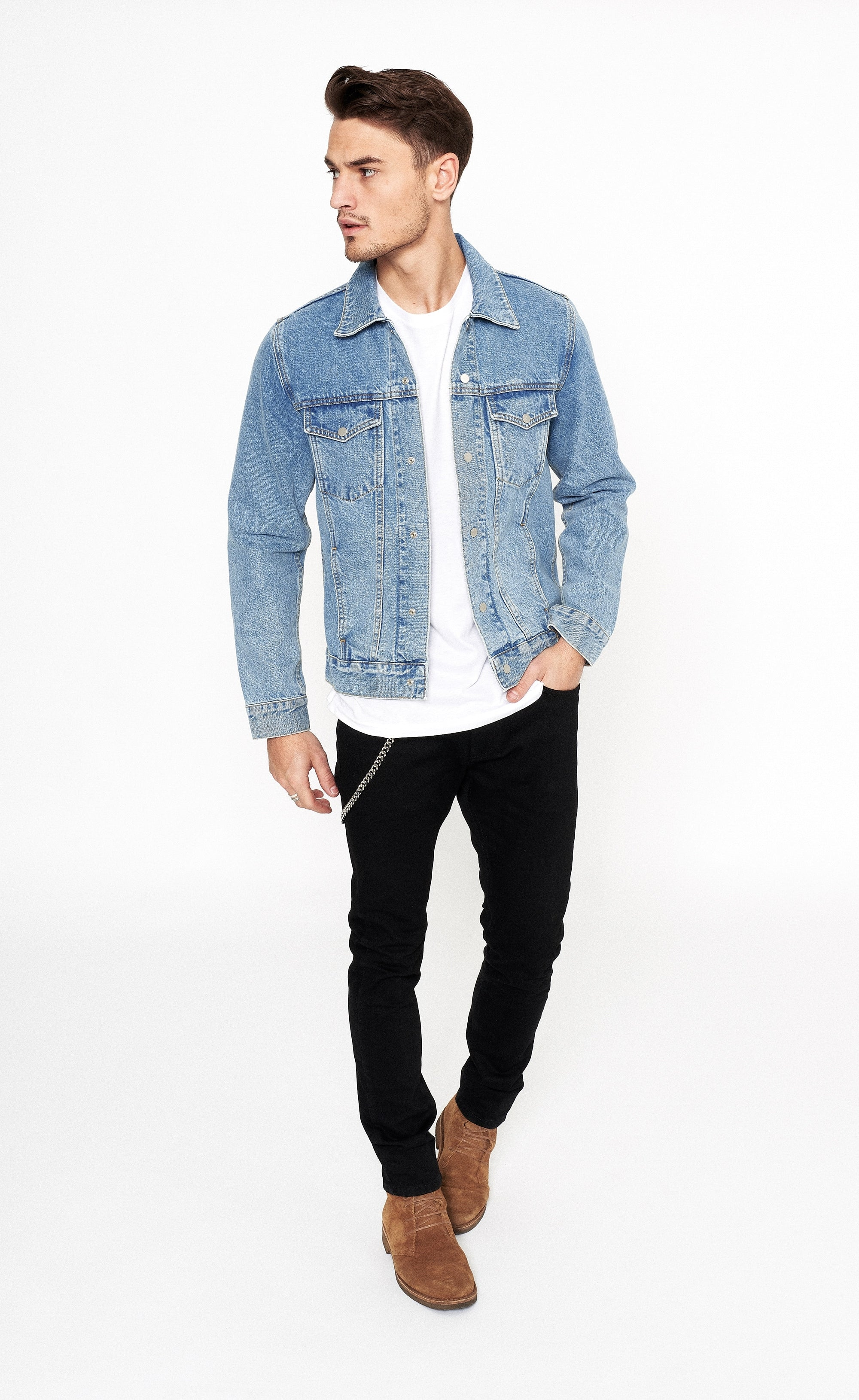 CLASSIC DENIM JACKET - BLUE - Forage-Clothing