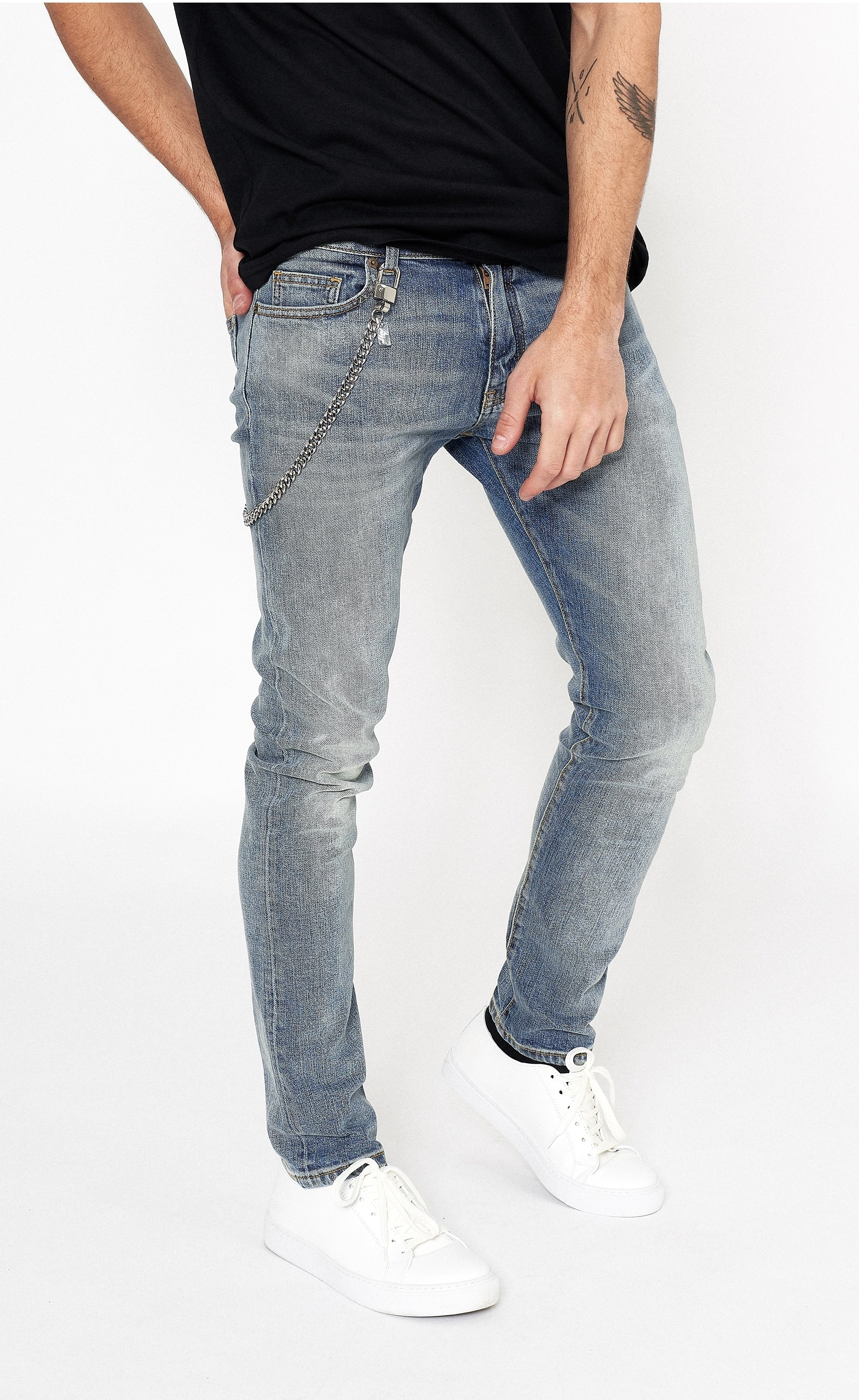 CLASSIC SKINNY JEANS - BLUE - Forage-Clothing