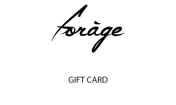 Gift Card - Forage-Clothing