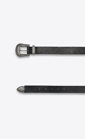 WESTERN BELT - BLACK - Forage-Clothing
