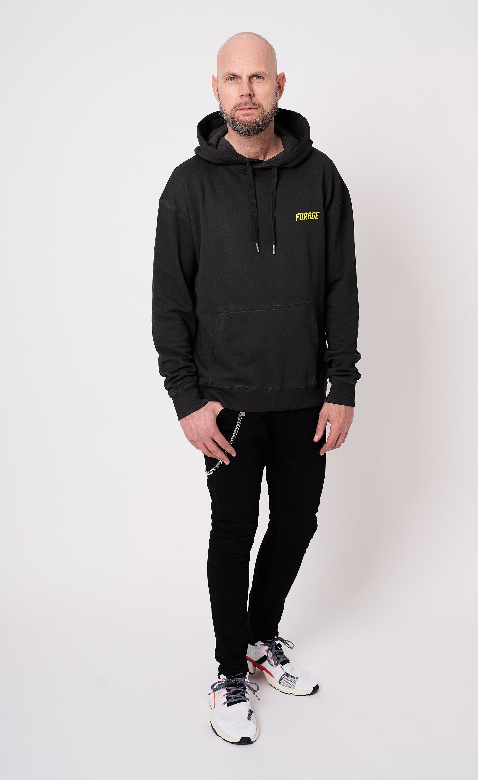 WASHED HOODIE - NO SEASON - Forage-Clothing