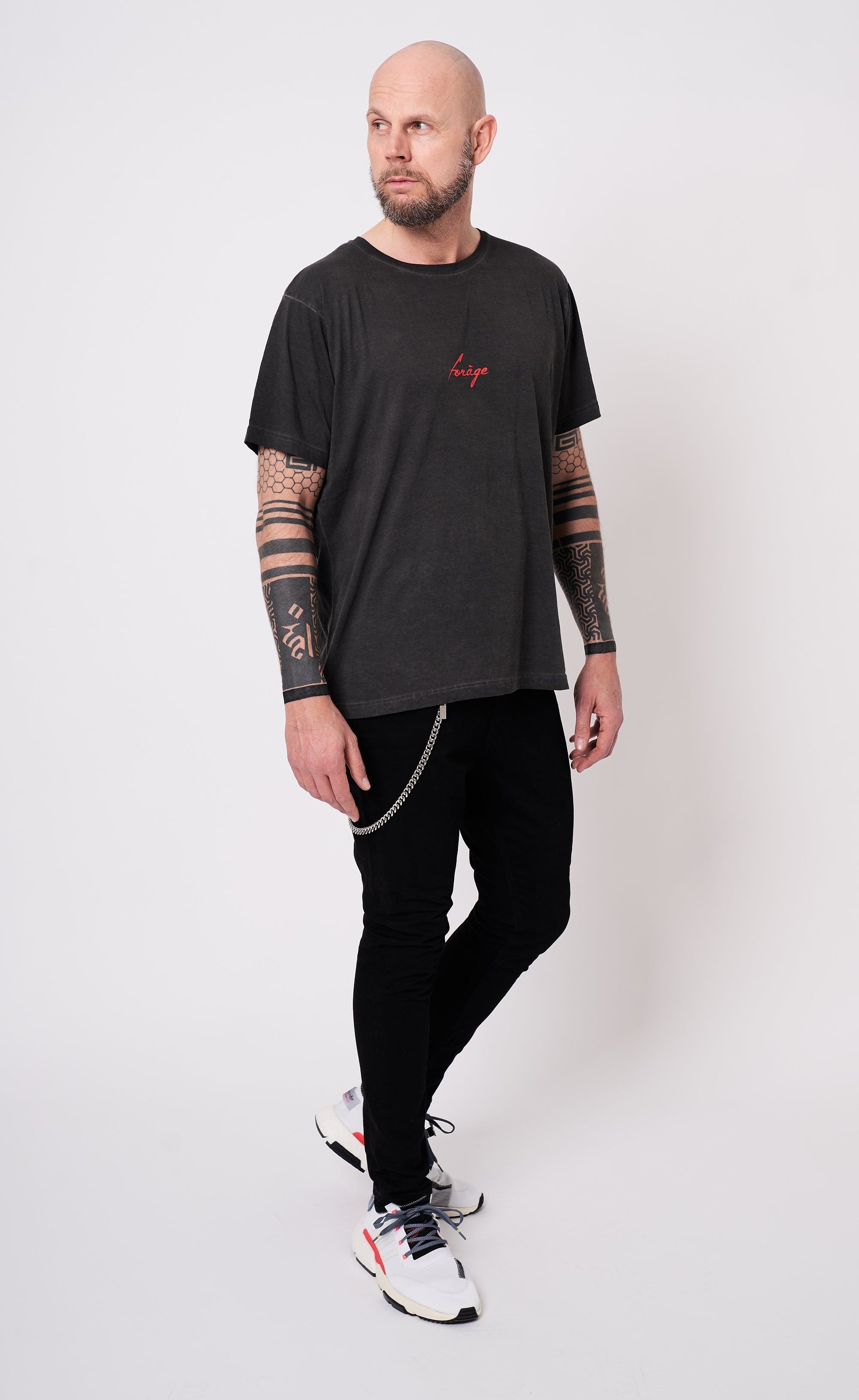 FORAGE LOGO SHIRT - MINIMAL - Forage-Clothing