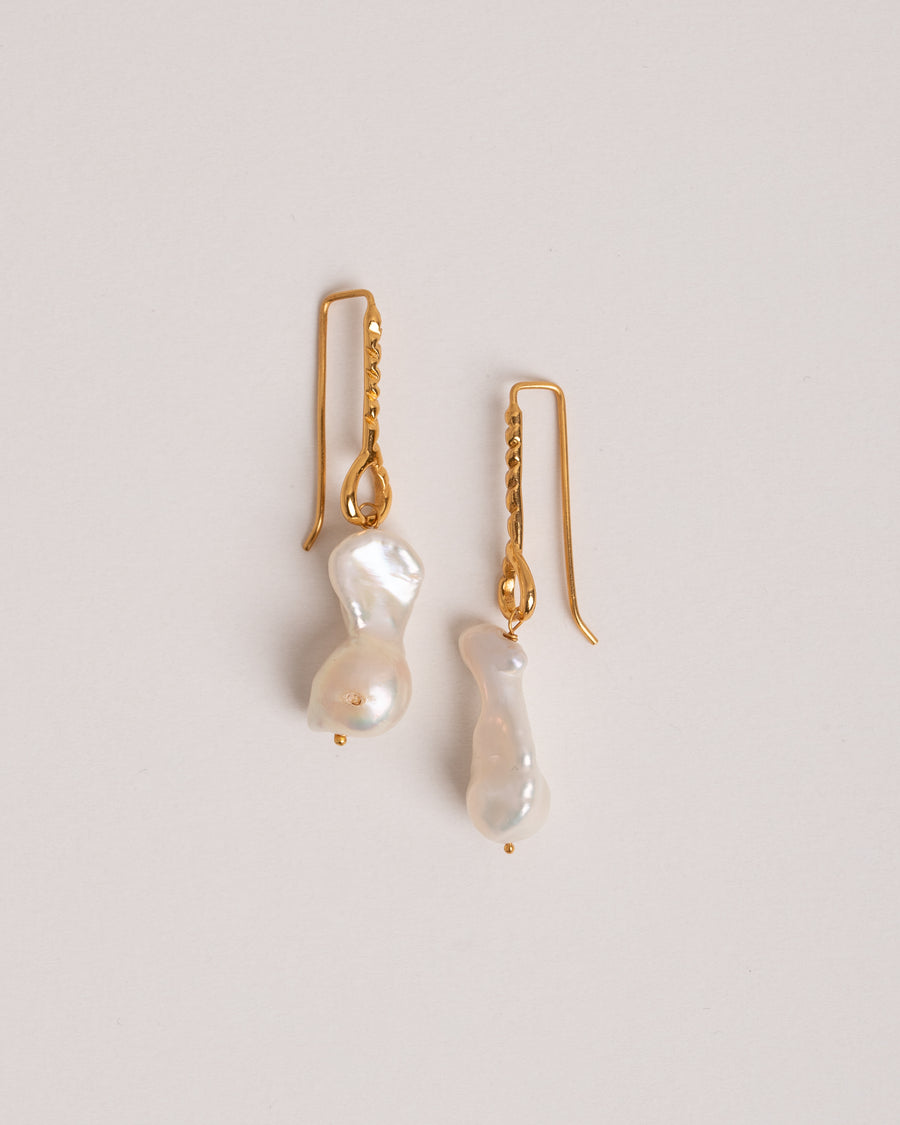 Shyla London Ohrringe Helena Baroque Pearl