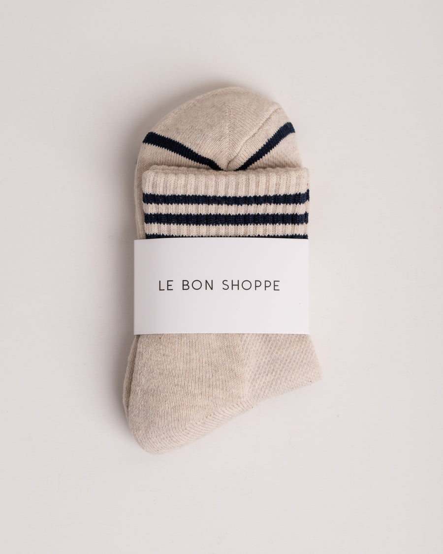 Le Bon Shoppe Socks Girlfriend oatmeal