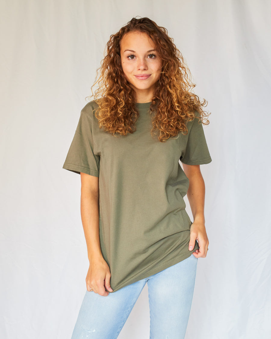 Colorful Standard T-Shirt Cs2051 hunter green