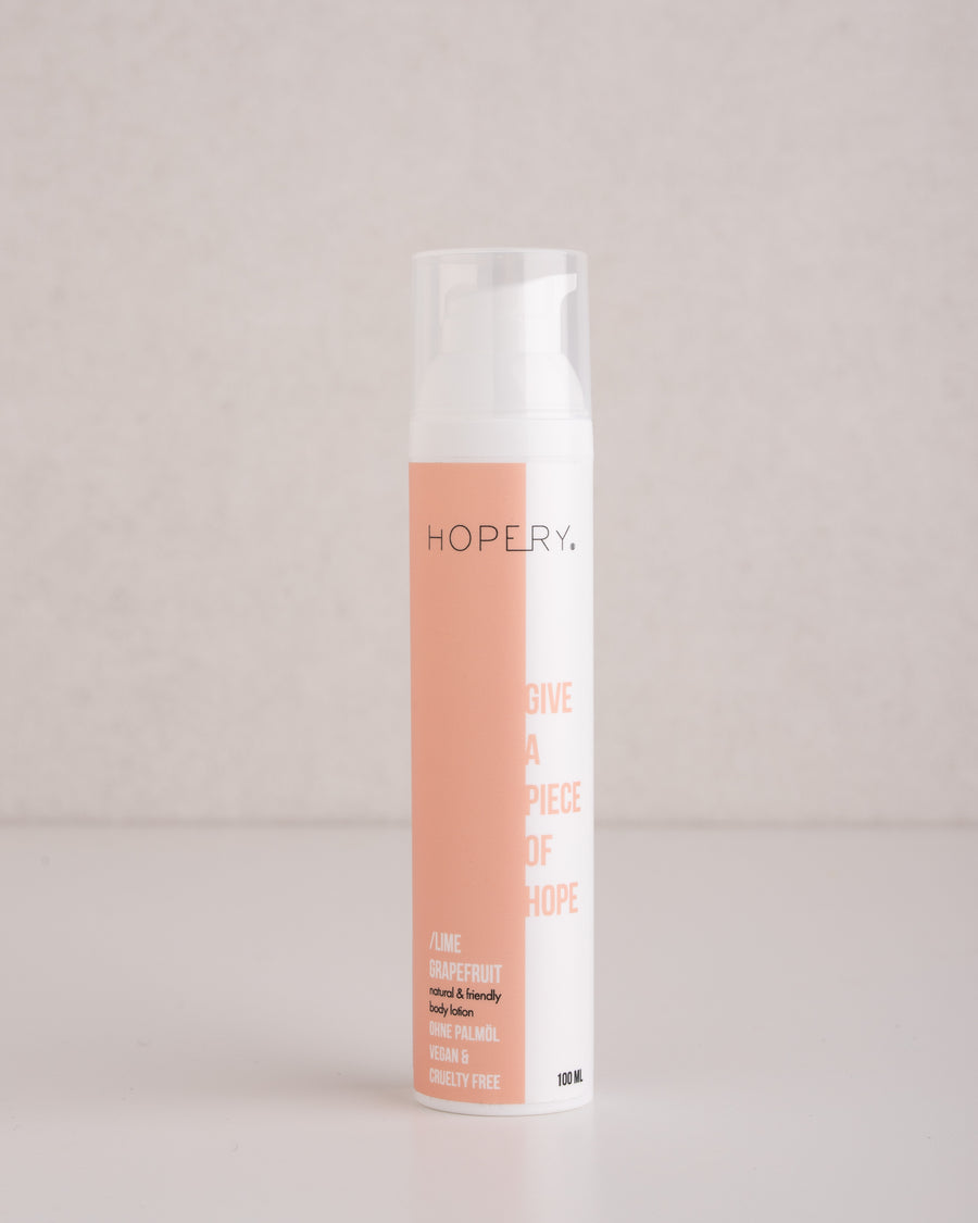 Hopery Body Lotion lime grapefruit 100ml