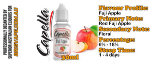 DIY - Capella - Fuji Apple - 30ml