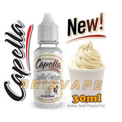Capella - Vanilla Custard V2 - 30ml