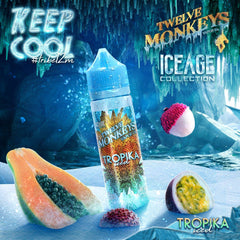 12 Monkeys Ice Age - Tropika Ice - 60ml