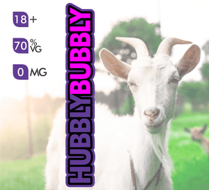 Crazy Goat Vapes - Hubbly Bubbly