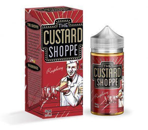 The Custard Shoppe - Raspberry Custard - 100ml