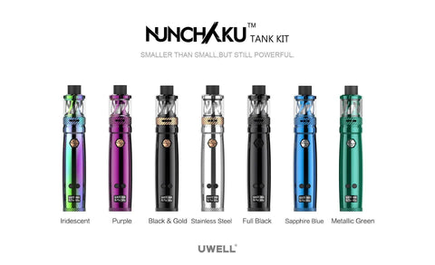Regulated Device - Uwell - Nunchaku 80W Kit With Nunchaku Tank 5.0ml