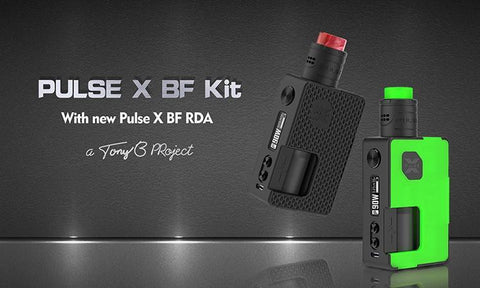 Regulated Device - VandyVape - Pulse X BF Squonk Kit - Standard Edition
