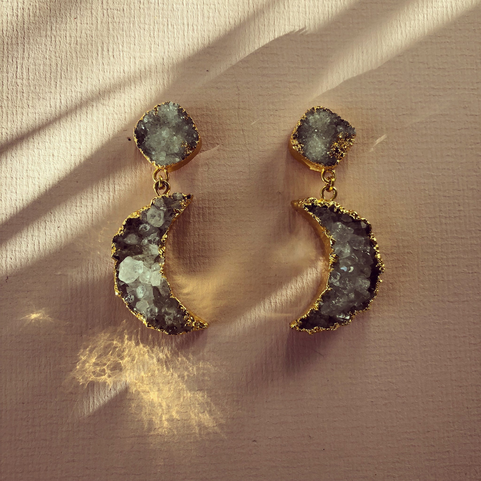 La Luna Double Earring