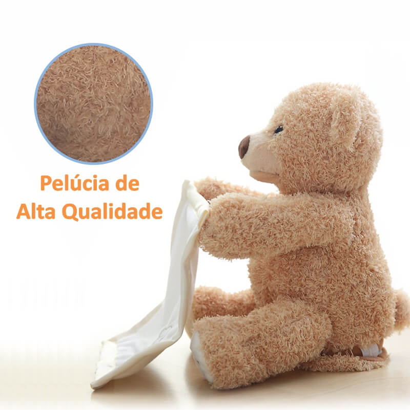 OUTLET 2018 - GUGA - Ursinho Animado Esconde Esconde