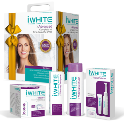 iwhite, iwhite instant teeth whitening kit, iwhite mouthwash, iwhite toothpaste, iwhite tooth polisher, iwhite polishing paste, teeth whitening, dark stains, red wine, tobacco, tea, coffee, smoking, instant, remove stains, no sensitivity, no hydrogen peroxide
