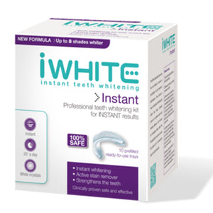 iwhite, iwhite instant teeth whitening kit, teeth whitening, instant, remove stains, no sensitivity, no hydrogen peroxide