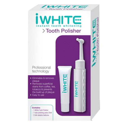 iwhite, iwhite tooth polisher, iwhite polishing gel, teeth whitening, instant, remove stains, no sensitivity, no hydrogen peroxide