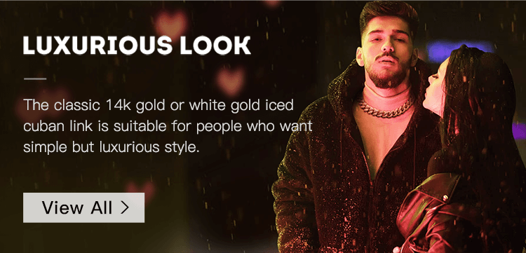 iced cuban link spice your look - 2019 valentines day - aporro brand
