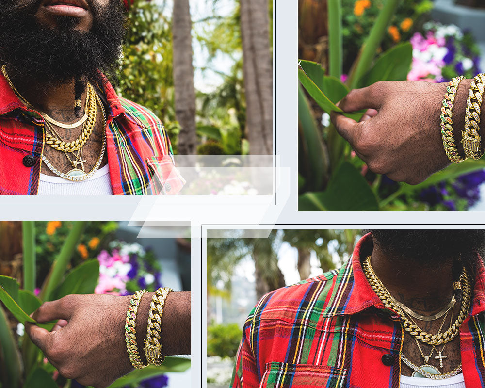 hip hop jewelry cuban chains Aporro