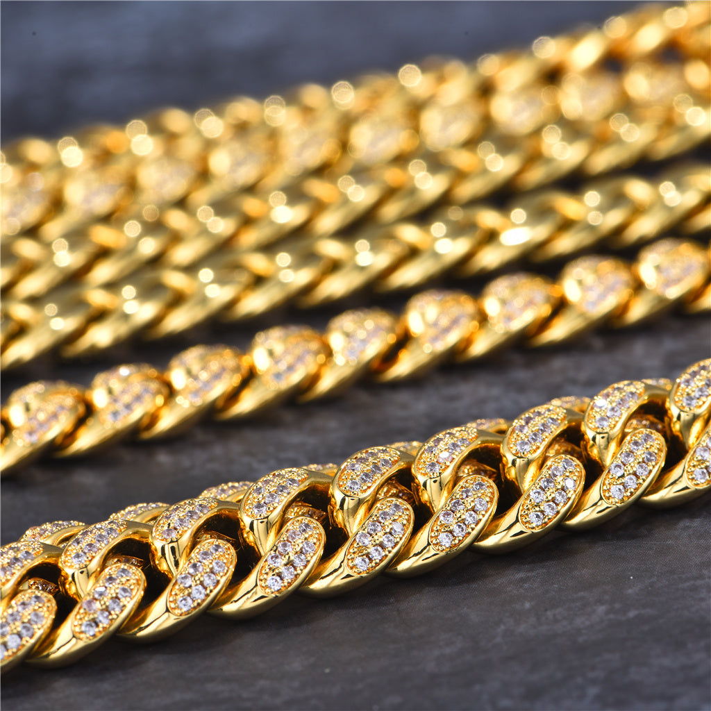 shiny cuban link chains Aporro