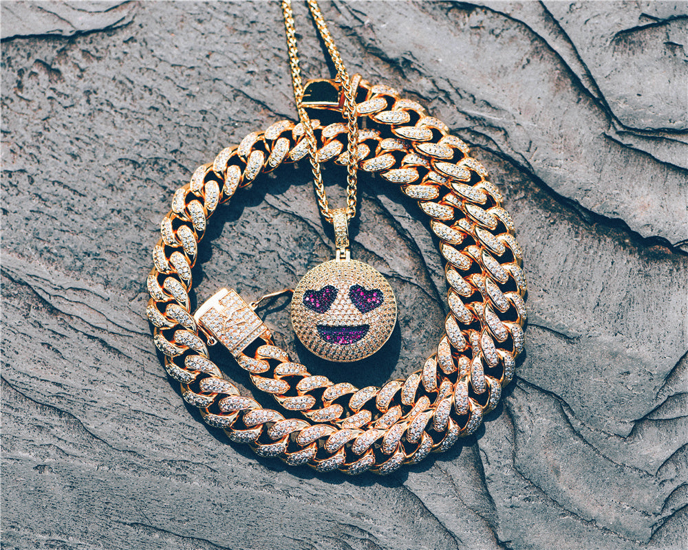 hip hop jewelry cuban chain Aporro