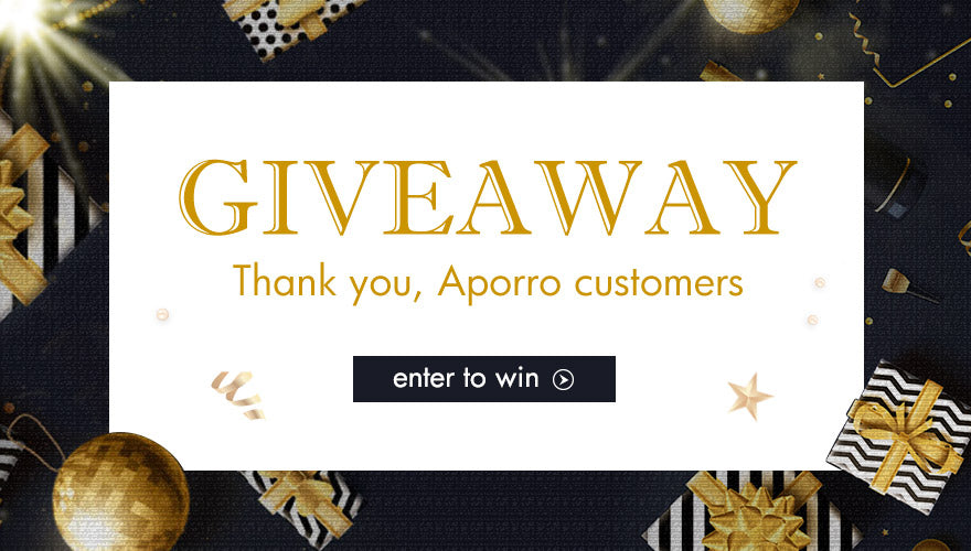 Aporro 2nd Anniversary Giveaway