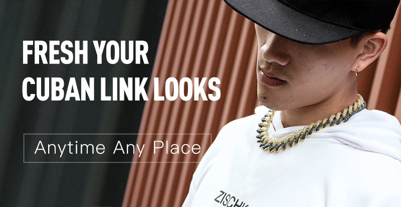 fresh your cuban link look - aporro