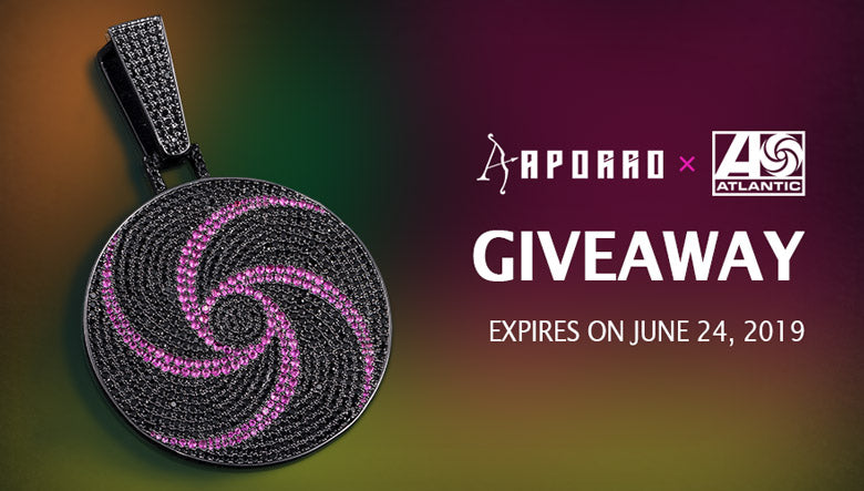 Giveaway | Aporro X Atlantic Records Exclusive Pendant