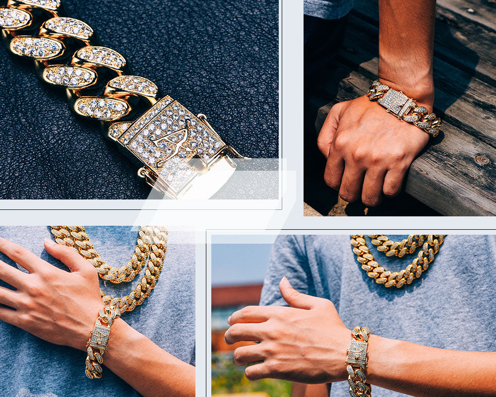 Iced Out Cuban Bracelet Aporro