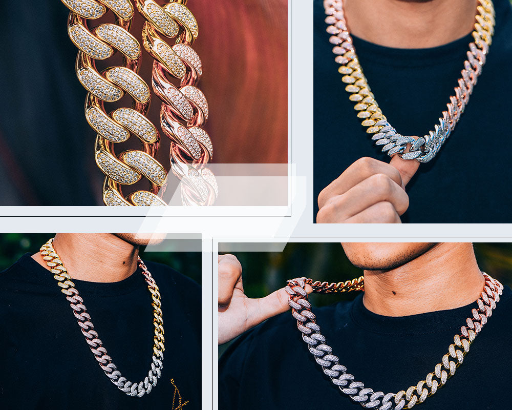 stylist cuban link chains Aporro