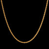 3.5mm 14k Gold  Rope Chain