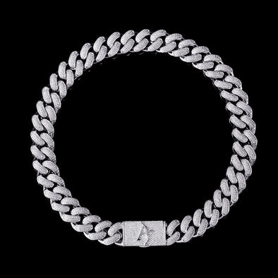 19mm Aporro A® Box Clasp Cuban Link Chain