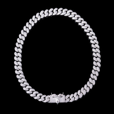 12mm G.O.A.T C uban Chain for Black Friday