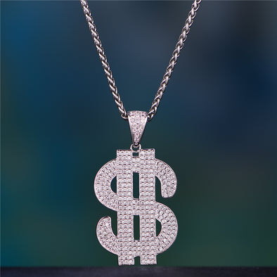 Aporro-stylist iced out pendants