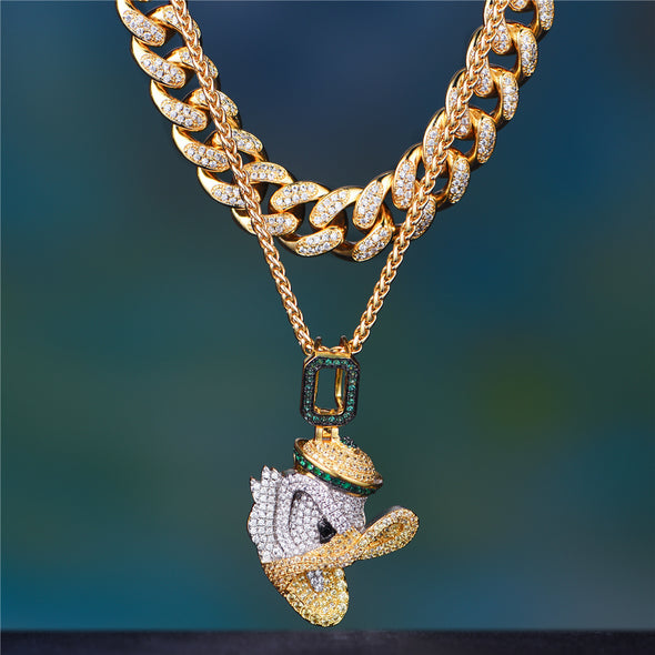 fashion iced out cuban chain Aporro