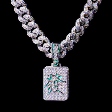 Fully Iced Wealth Pendant