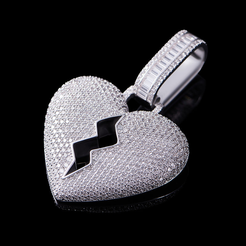 Broken Heart Pendant (Large)