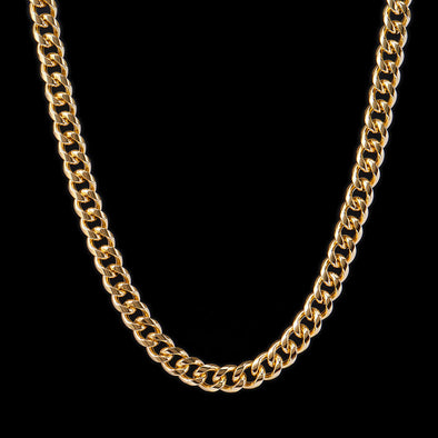 12mm 14K Gold Miami Cuban Curb Chain
