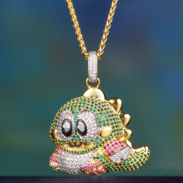 bubble dragon pendant-Aporro