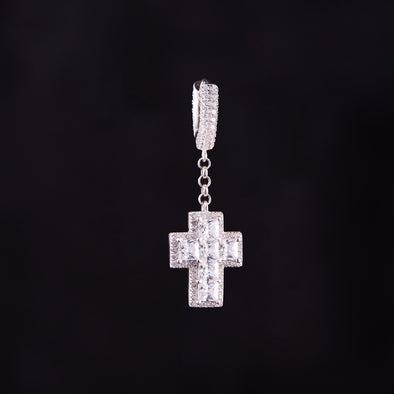 [Best-Seller] Cross Earrings in 925 Sterling Silver