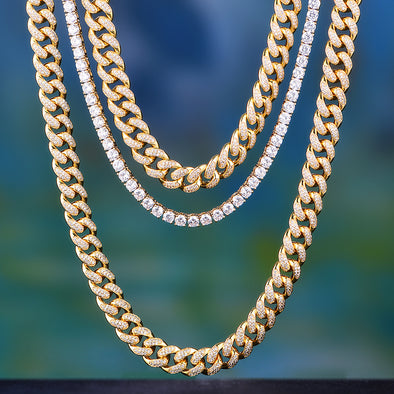 Aporro-stylist iced out cuban chain