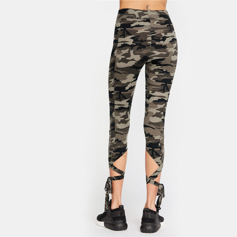 Lana Leggings - Camo