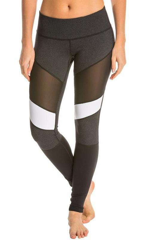Athena Leggings - Black/White