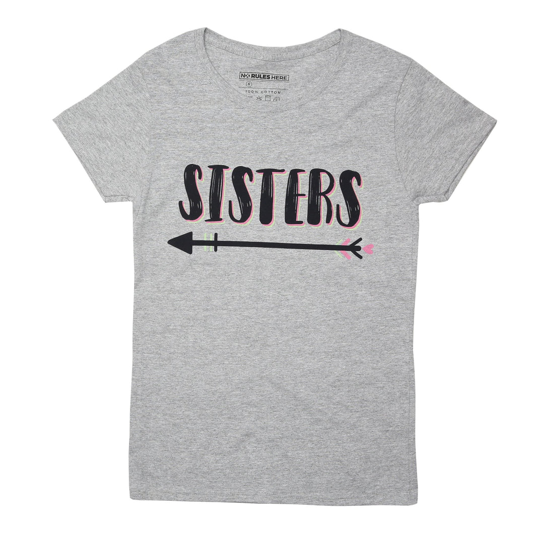 soul sisters best friend t-shirt grey