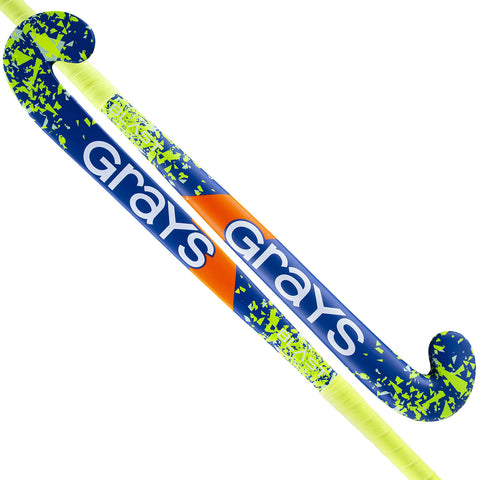 Blast Ultrabow Hockey Stick - Blue/Yellow