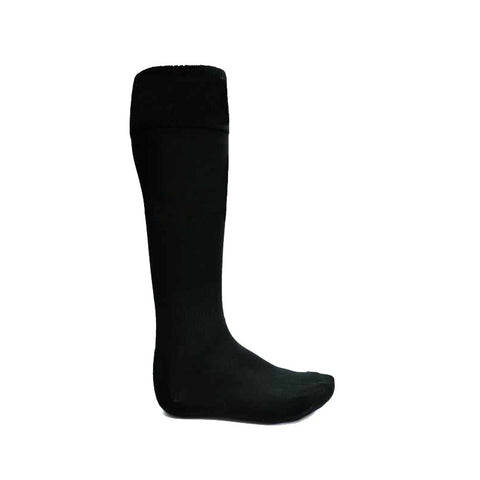 ATAK Plain Sports Socks - Black JNR