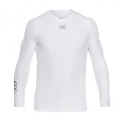 Canterbury Thermoreg Base Layer - White