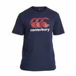 CCC Logo Tee Navy/Red